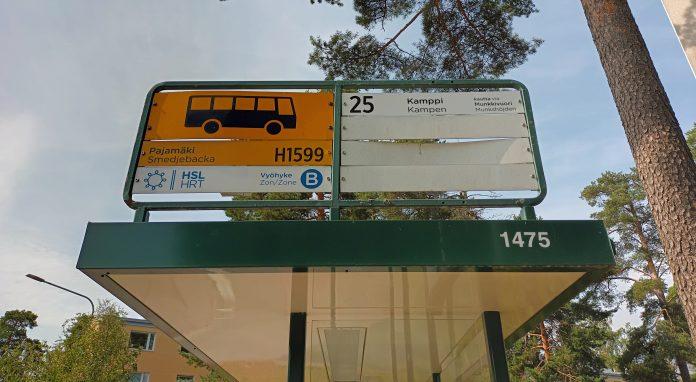 Pajamäen bussipysäkki